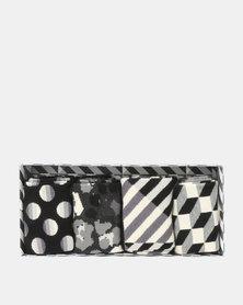Happy Socks Seasonal Socks Gift Box Black & White