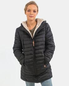 O'Neill Sol Puffer Jacket Black