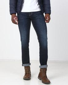 New Look Harley Slim Leg Jeans Indigo