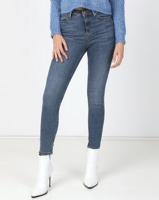 New Look Super Skinny 'Lift & Shape' Jeans Blue