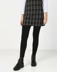 New Look Fleece Lined Leggings Black