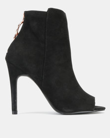New Look T-Veratti Suedette HV Stiletto Black