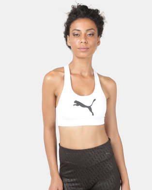 2784f2b232 Puma Performance 4 Keeps Bra M White