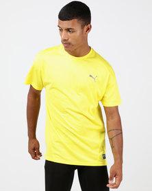 Puma Performance A.C.E. Short Sleeve Tee Blazing Yellow