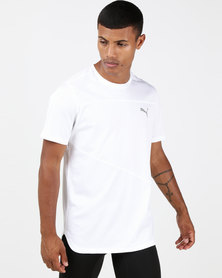 Puma Performance Ignite Short Sleeve Tee Mono White