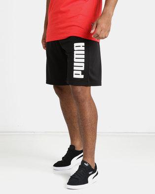 42b9fa58b5fe Puma Sportstyle Core Tricot Shorts Black