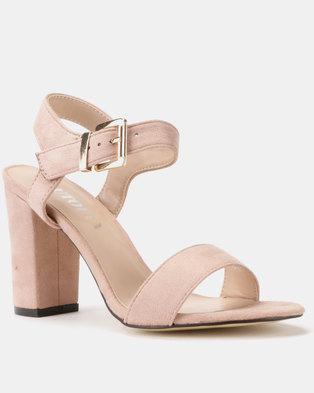 661b32b02e28 Utopia Block Heel Sandals Pink