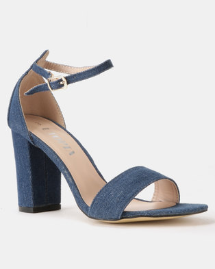 c46b958c6769 Utopia Block Heel Sandals Dark Denim