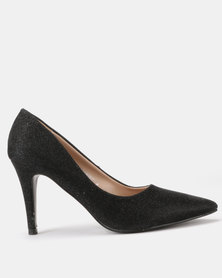 Utopia Shimmer Pointy Courts Black