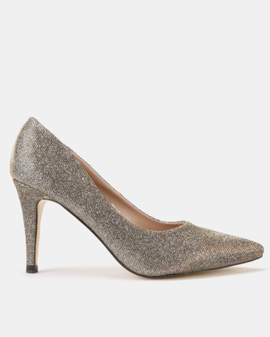 Utopia Shimmer Pointy Courts Gold