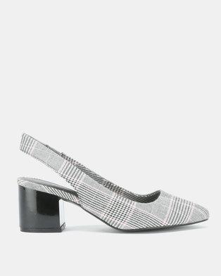 Call It Spring Giovani Block Heels Grey