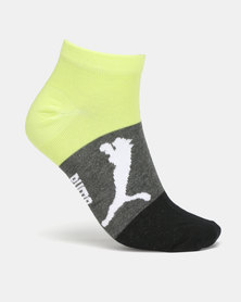 Puma Sportstyle Core Mens 2 Pack Sneaker Socks Multi