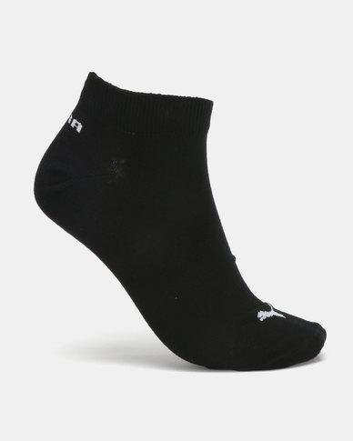 Puma Sportstyle Core Mens 2 Pack Sneaker Socks Black/White
