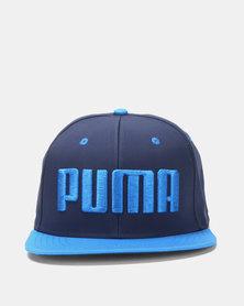 Puma Sportstyle Core Flatbrim Cap Blue