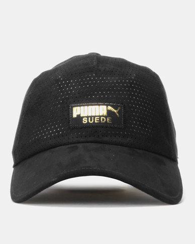 06144904705 Puma Sportstyle Prime Suede BB Cap Black