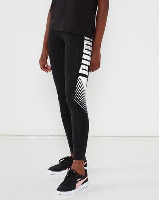 Puma Sportstyle Core Ess Graphic Leggings Black
