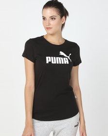Puma Sportstyle Core Ess Logo Tee Black