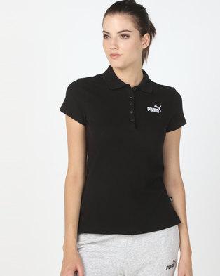 Puma Sportstyle Core Ess Polo Black 18375e4fc