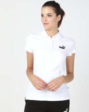 Puma Sportstyle Core Ess Polo White