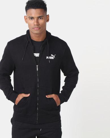 Puma Sportstyle Core ESS FZ Hoodie FL Black