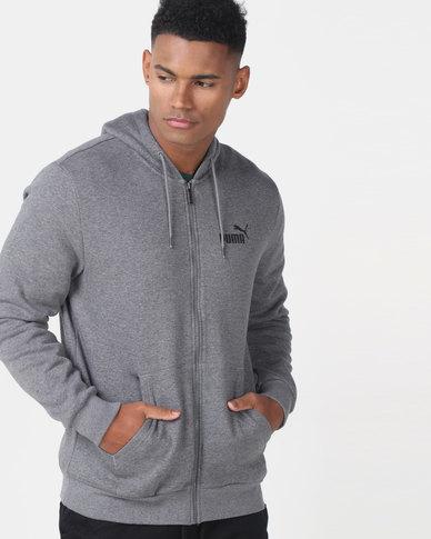 Puma Sportstyle Core ESS FZ Hoodie FL Grey