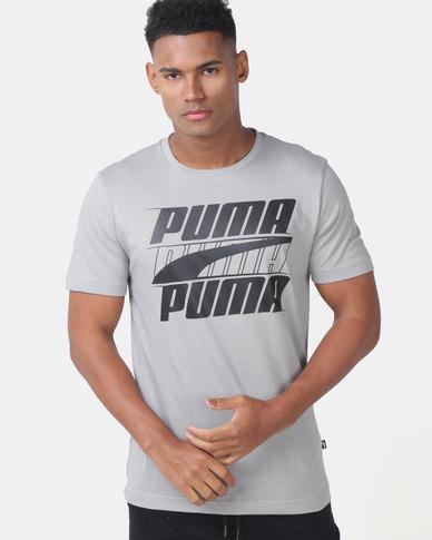 Puma Sportstyle Core Rebel Basic Tee Grey