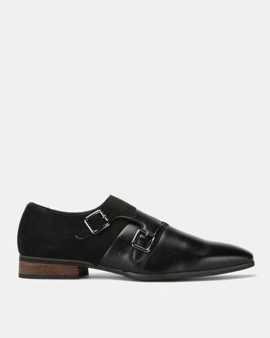Mazerata Magio 25 Wax Sue Formal Shoes Black