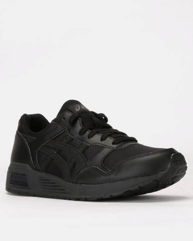 detailed look 00980 f7441 ASICSTIGER Lyte-Trainers Black/Black