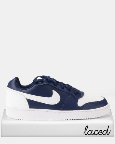 addefc523646 Nike Ebernon Low Sneakers Blue Void White