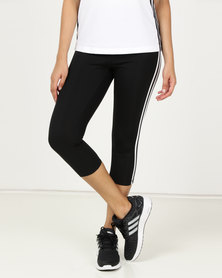 adidas Performance D2M HR 34 3S Tights Black