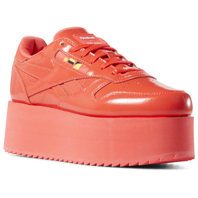 Classic Leather Triple Platform Gigi Shoes