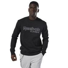 classics men\u0027s clothing clothing buy online at reebok  fleece crew sweatshirt