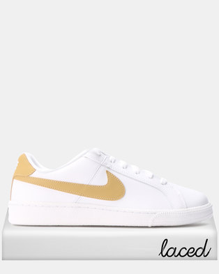 best service f87cc 8c66f Nike Court Royale Sneakers White Club Gold