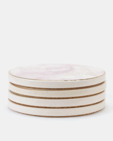 New Look 4 Pack Cocktail Coasters Multi
