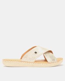 Tsonga Leather Ganiwe Sandal Gold