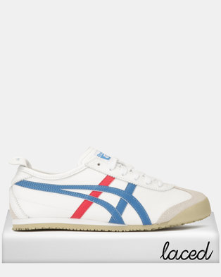 Onitsuka Tiger Mexico 66 Sneakers White Blue 93607d7aab