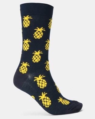 fce91315c Sexy Socks Pina Colada Bamboo Socks Multi