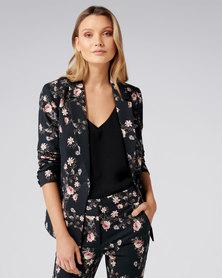 Donatella blazer Rose Floral
