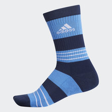 LINEAR COLORBLOCK CREW SOCKS