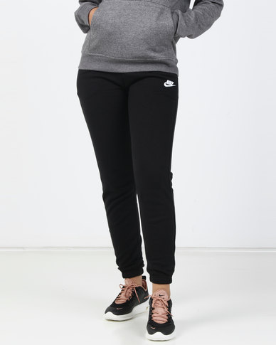 Nike Womens Sportswear Fleece Regular Pants Black
