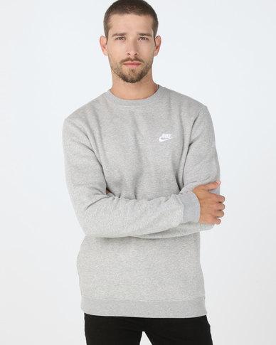 Nike M NSW CLUB CRW BB Grey