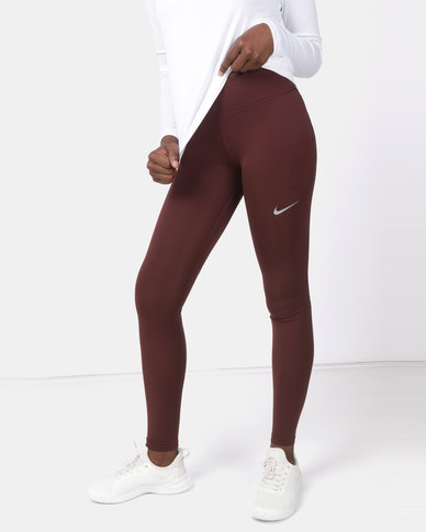Nike Performance W NK Fast Tights Mauve