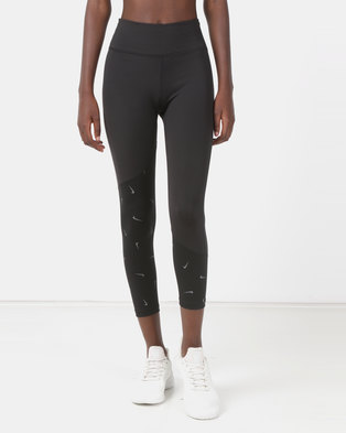 Nike Performance Women s All-In Crop Tights Black 195008daf90