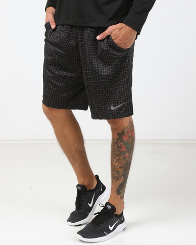 0054de1df4603 Nike Performance Men's Dry Shorts 4.0 AOP 2 Black | Zando