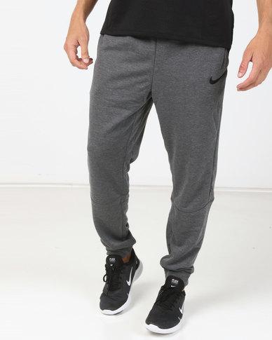 ccf535c9d552cf Nike Performance M Nk Dry Pants Taper Fleece Grey | Zando