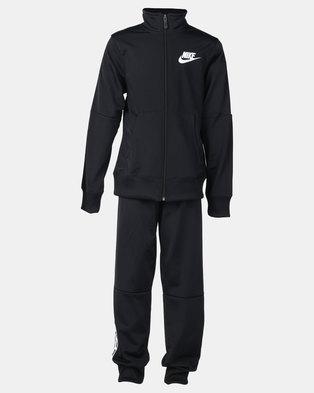 Nike Girls Sportswear Tracksuit Tricot Black bf9e0b7f965f