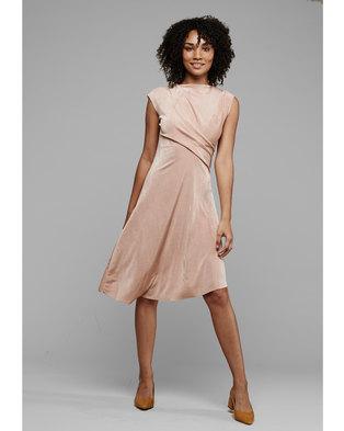 MARETH & COLLEEN Faye Dress Blush