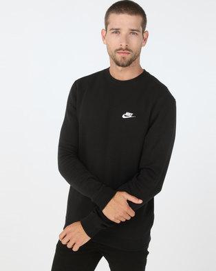 45f27413a95 Nike M NSW CLUB CRW BB Black