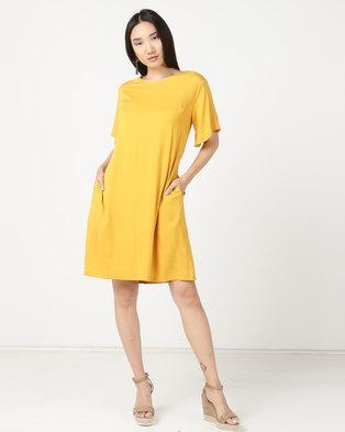 76e924bf4da MARETH   COLLEEN April Dress Yellow