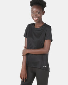 Nike Performance W NK Run Top SS Black